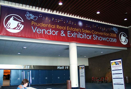 Convention Exhibit Entrance Banner