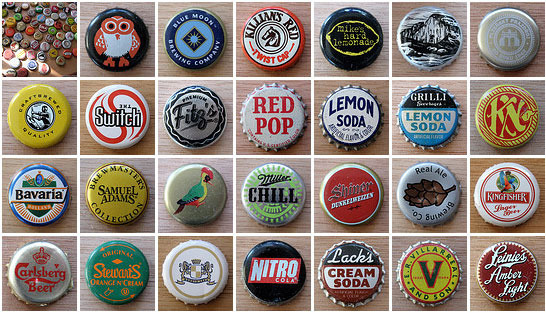 Bottle Cap Collection on Flickr