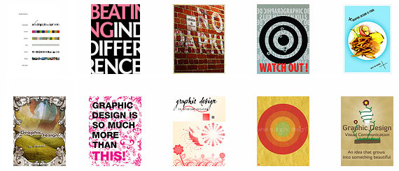What is Graphic Design? Posters on Flickr