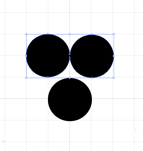 "Step 1: ""Mickey Mouse"" head"