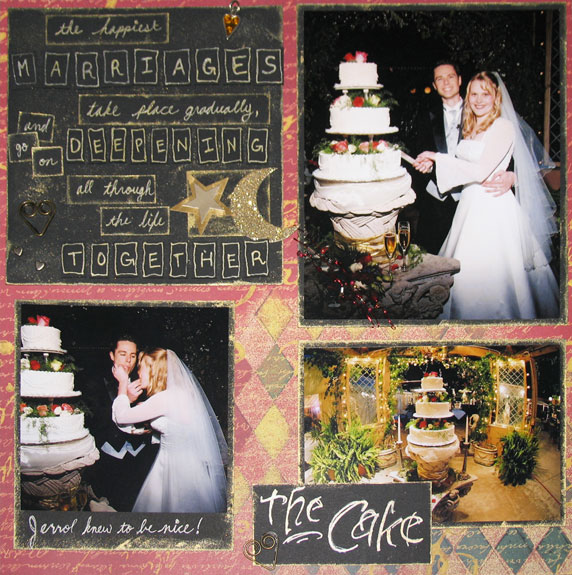 My Wedding Scrapbook