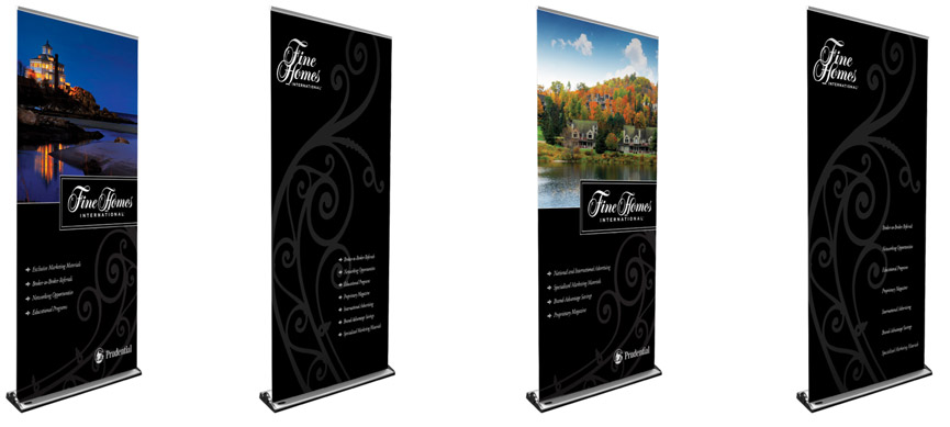 Fine Homes Banners